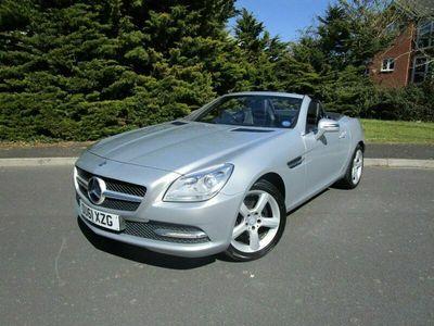 used Mercedes SLK200 SLK 1.8BLUEEFFICIENCY EDITION 125 2d 184 BHP ONLY 34,000 MILES & F/S/H