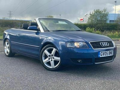 used Audi A4 Cabriolet Cabriolet 1.8 T Sport 2dr