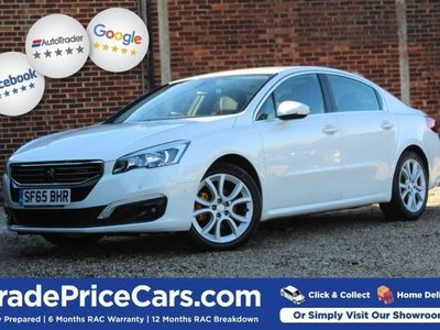 used Peugeot 508 2.0 BLUE HDI ALLURE 4d 150 BHP All Vehicles Fully diesel saloon