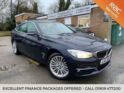 used BMW 330 Gran Turismo 3 SERIES 3.0 D XDRIVE LUXURY 5d 255 BHP ONLY 1 FORMER KEEPER, 43K BM