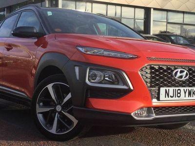 used Hyundai Kona 2018 Gateshead 1.0T GDi Blue Drive Premium 5dr