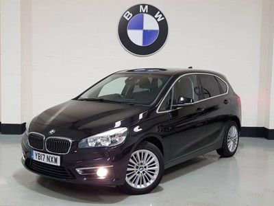 used BMW 218 Active Tourer 2 SERIES 2.0 D LUXURY 5d 148 BHP Leather Seats / Sat-Nav / 1 Owner