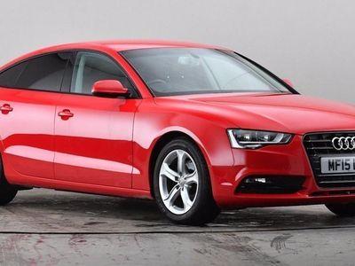 used Audi A5 2.0 TDIe 136 SE 5dr [5 Seat] Red Manual Diesel
