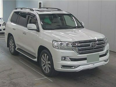 used Toyota Land Cruiser Land Cruiser- ZX 4.6 V8 AUTO 19-19 LEATHER SUNROOFS 8 SEATER IMPORT BIMTA MILEAGES FINANCE SUV 2019