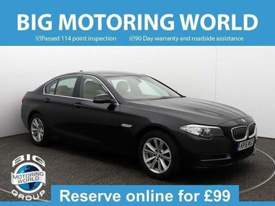 used BMW 520 5 Series D SE Saloon 2016