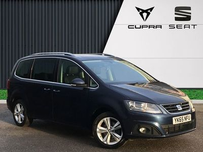 used Seat Alhambra 2.0 TDI ECOMOTIVE 150PS SE LUX 5DR