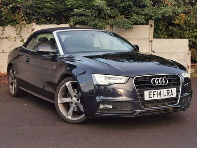 used Audi A5 Cabriolet 2.0 TDI 150 S Line Special Edition 2dr