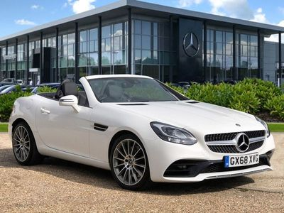 used Mercedes SLC180 SLC 1.6AMG Line Convertible 2dr Petrol Manual (s/s) (156 ps)