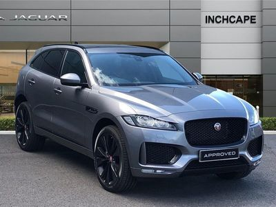 used Jaguar F-Pace 2020 York 2.0d [180] Chequered Flag 5dr Auto AWD