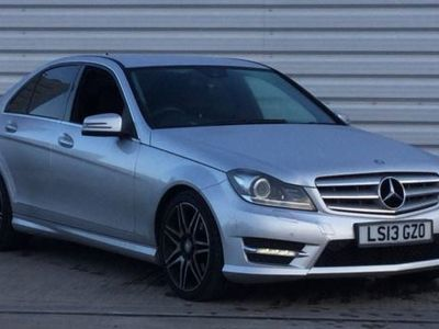 used Mercedes C350 C CLASSCDI BlueEFFICIENCY AMG Sport Plus 4dr Auto Silver Automatic Diesel