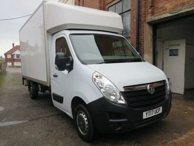 used Vauxhall Movano 2.3 CDTi 3500 FWD L3 H1 EU5 2dr, 2017, not known, 74802 miles.