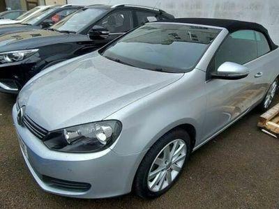 used VW Golf Cabriolet 1.6 TDI BlueMotion Tech S 2d