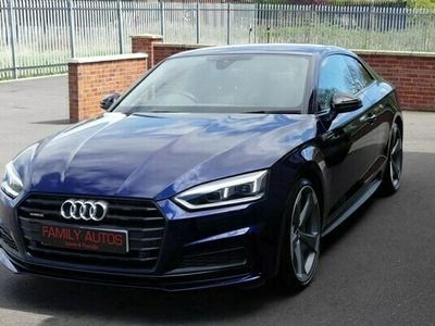 used Audi A5 Coupe Black Edition 40 TDI 190PS Quattro S Tronic auto 2d