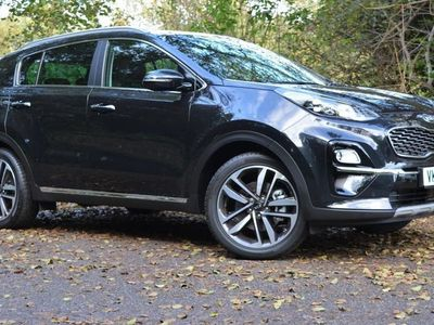 used Kia Sportage 1.6T GDi ISG 4 5dr * LEATHER / PANROOF / 19'S NAV / JBL / DELIVERY MILES *