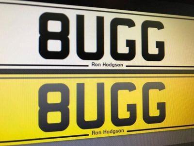used Bugatti Veyron PERSONAL PLATE 8UGG