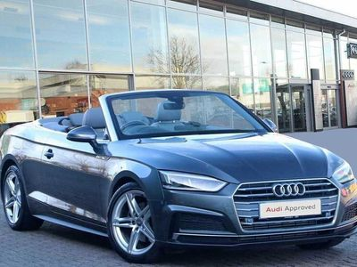 used Audi A5 Cabriolet 2.0 TFSI S Line 2dr Convertible 2018