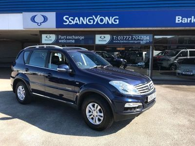 used Ssangyong Rexton 2.2 SE 4x4 5dr