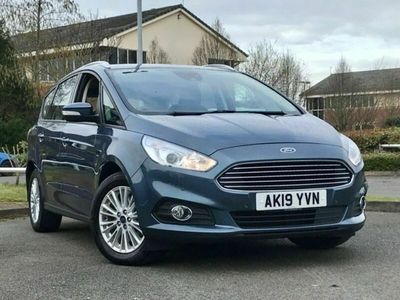 used Ford S-MAX ZETEC ECOBLUE mpv (multi-purpose vehicle) diesel estate