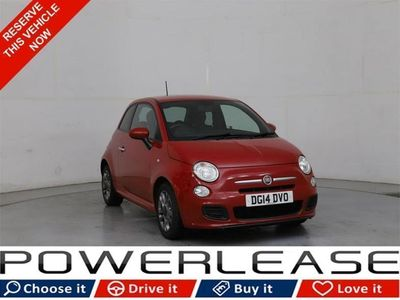 used Fiat 500 1.2 S 3d 69 BHP 30 POUND TAX LEATHER B/TOOTH