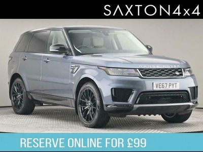 used Land Rover Range Rover Sport 2.0 SD4 HSE Auto 4WD (s/s) 5dr