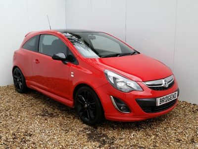used Vauxhall Corsa 1.2 Limited ED 3dr Red