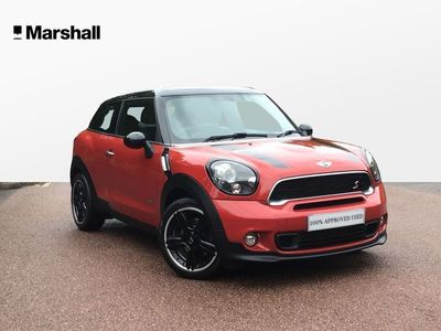 used Mini Cooper S Coupé Paceman 2.0 D ALL4 3dr 2016