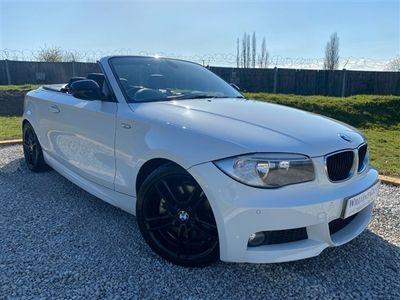 used BMW 123 Cabriolet 123d M Sport 2dr (Media Pack! Comfort Pack! +++)