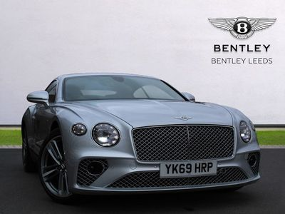 used Bentley Continental GT All new 4.0 V8. VAT Qualifying, Touring specification coupe