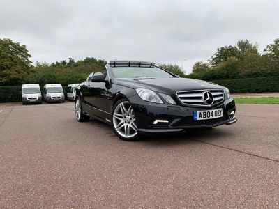 used Mercedes E350 E Class 3.0CDI BlueEFFICIENCY Sport Edition 125 Cabriolet 7G-Tronic Plus (s/s) 2dr
