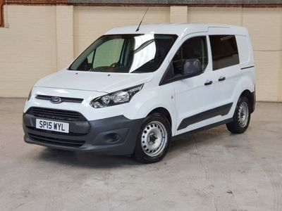 used Ford Transit Connect 1.6 TDCi 220 L1 4dr, 2015, not known, 95000 miles.