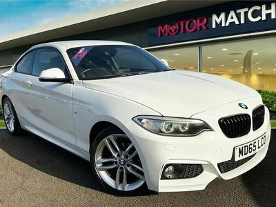 used BMW 218 2 Series i M Sport 2dr Coupe 2015