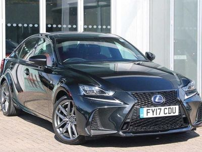 used Lexus IS300h F-Sport 4dr CVT Auto