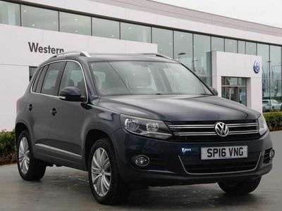 used VW Tiguan 2.0 TDI 150PS Match 4Motion SCR