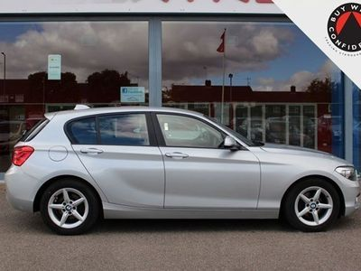 used BMW 116 1-Series Hatchback d EfficientDynamics Plus (03/15-) 5d
