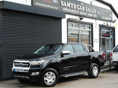 used Ford Ranger 2.2 TDCi Limited 1 Double Cab Pickup 4x4 4dr