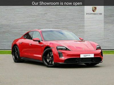 used Porsche Taycan SALOON 460kW Turbo 93kWh 4dr Auto