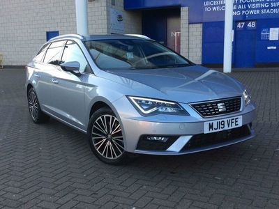 used Seat Leon Estate 2.0 TSI XCELLENCE Lux (190ps) DSG 5dr