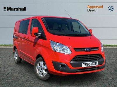 used Ford Custom Transit2.2 TDCi 125ps Low Roof D/Cab Limited Van
