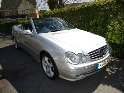 used Mercedes CLK240 CLK 2.6Avantgarde Cabriolet 2d 2597cc auto