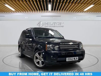 used Land Rover Range Rover Sport 3.0 SDV6 HSE BLACK 5d 255 BHP