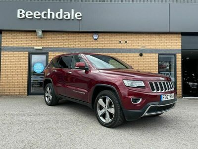 used Jeep Grand Cherokee 3.0 CRD Limited Plus Auto 4WD (s/s) 5dr