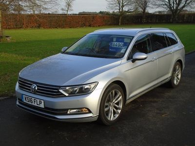 used VW Passat TDi 190 SCR BlueMotion Start-Stop GT