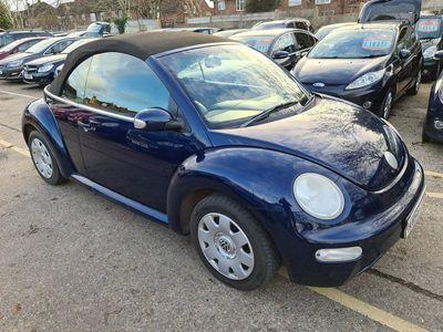 used VW Beetle 1.9 TDI S Cabriolet 2dr
