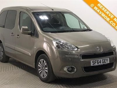 used Peugeot Partner Tepee Petrol Wheelchair Accessible Disabled Access Mobility Adapted Ramp Car