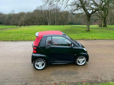 used Smart ForTwo Cabrio Passion mhd 2dr Softouch Auto [2010]