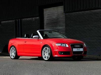 used Audi RS4 RS4 CABRIOLETQuattro 2dr 4.2