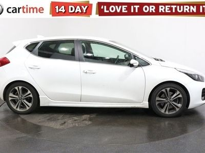 used Kia cee'd 1.0 GT-LINE ISG 5d 118 BHP Your dream car can become a reality with cartime's fantastic finance deals.
