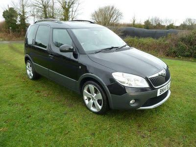 used Skoda Roomster Scout