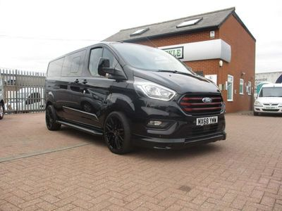 used Ford Custom Transit2.0 320 EcoBlue Limited DCIV Auto L2 H1 EU6 (s/s) 5dr (6 Seat)