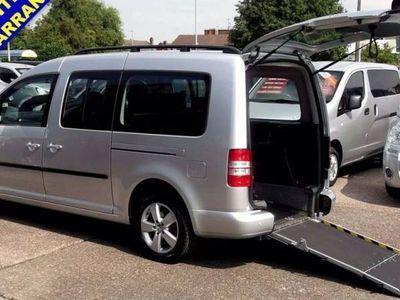 used VW Caddy Maxi DIESEL MANUAL MPV 5 DOORS